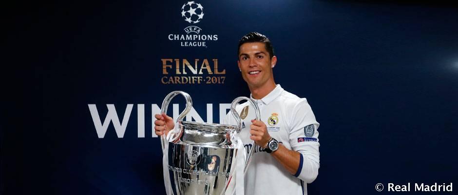 رونالدو تنها بازیکنی که در سه فینال لیگ قهرمانان اروپا گل زد