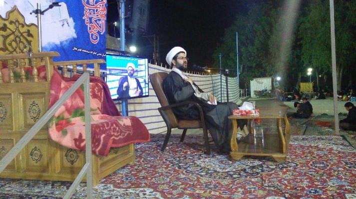 سخنرانی امام جمعه محترم شهر قهدریجان در مراسم پر اجر و پر ثواب لیلالقدر