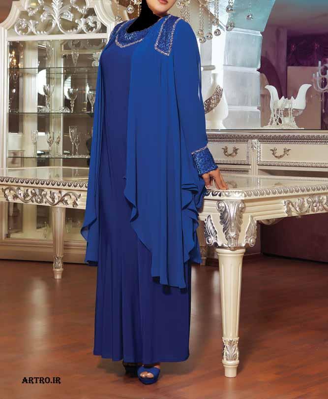 مدل لباس مجلسی زنانه سایز بزرگ1