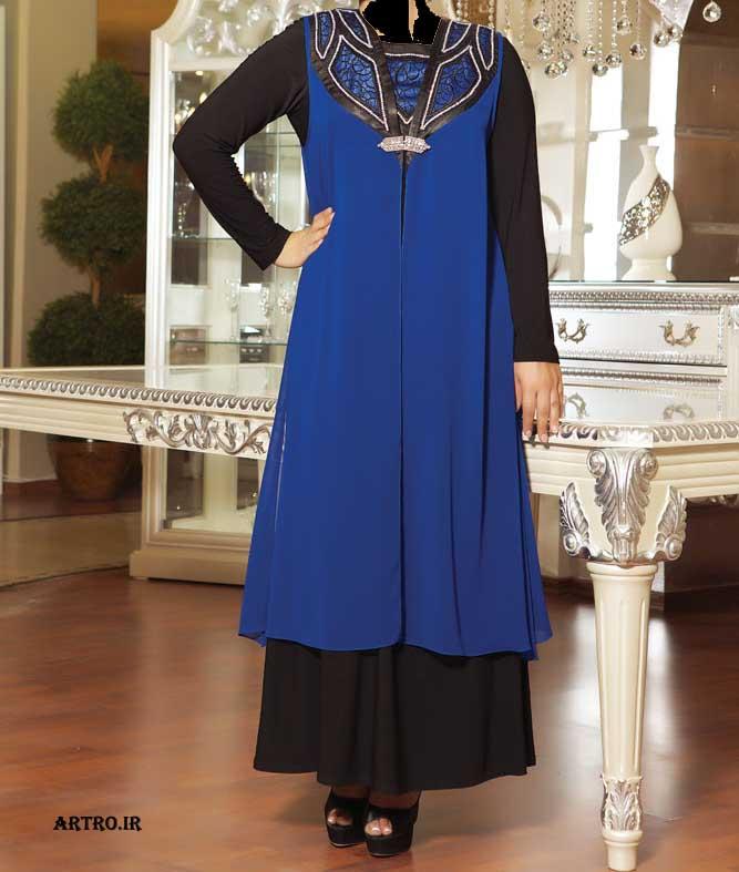 مدل لباس مجلسی زنانه سایز بزرگ6