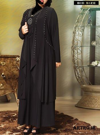 مدل لباس مجلسی زنانه سایز بزرگ2