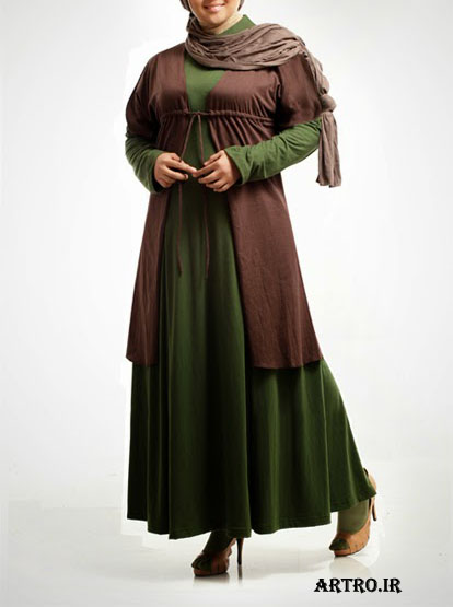 مدل لباس مجلسی زنانه سایز بزرگ3