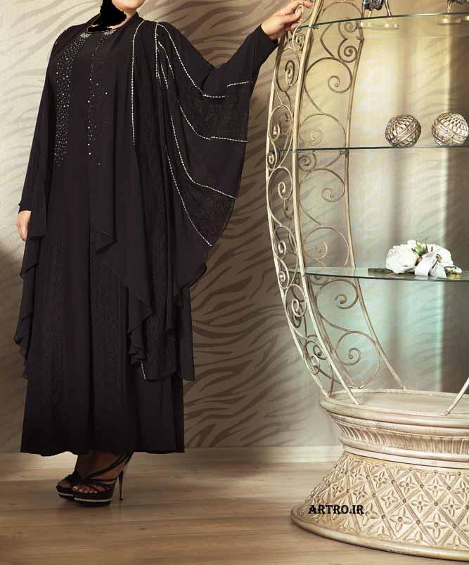 مدل لباس مجلسی زنانه سایز بزرگ4