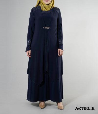 مدل لباس مجلسی زنانه سایز بزرگ5
