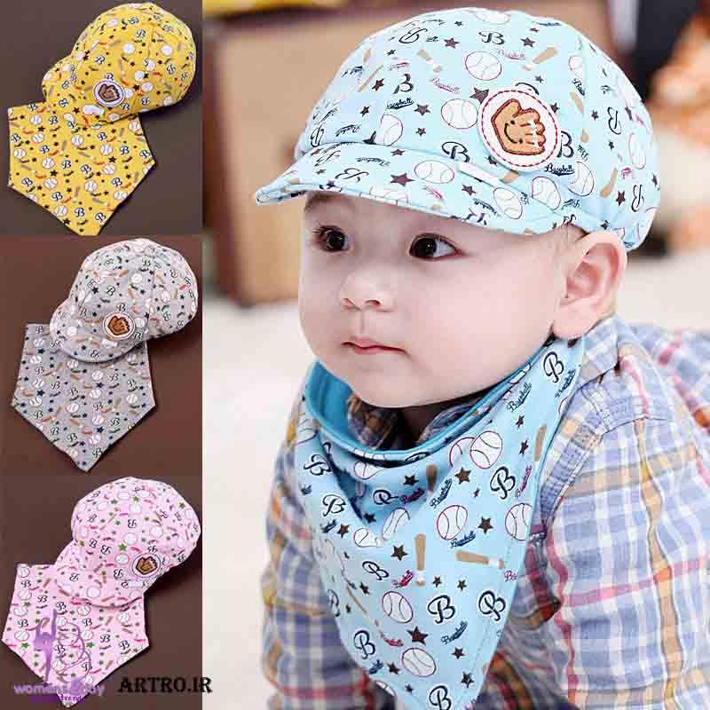 مدل کلاه تابستانه بچه گانه