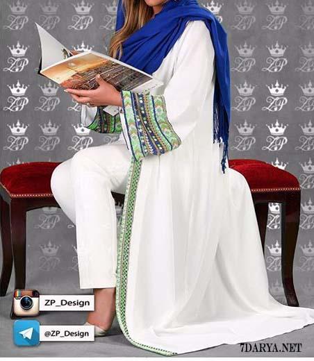 مدل مانتو عبایی خلیجی