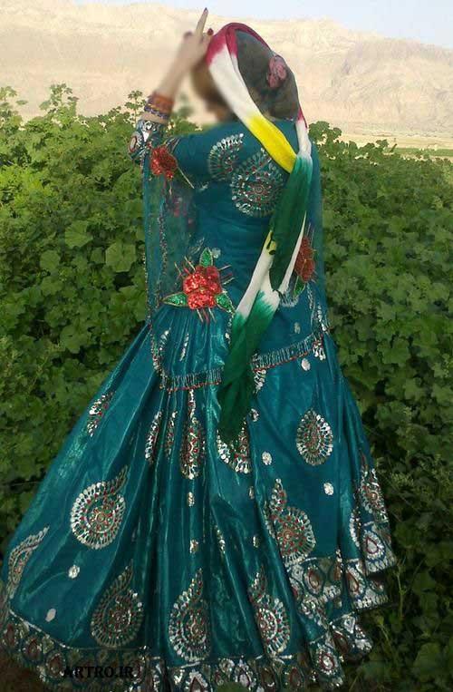 مدل لباس سنتی زنانه,