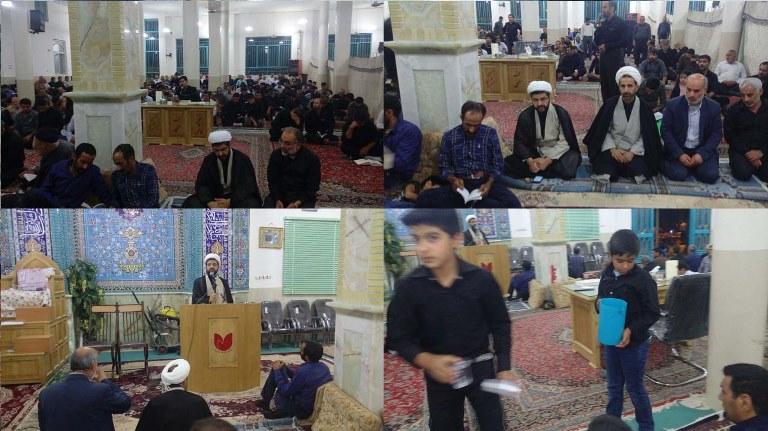 مراسم شب قدر در گلستان شهدای شهر قهدریجان با حضور و سخنرانی امام جمعه محترم شهر قهدریجان