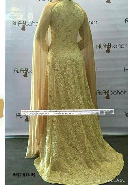 مدل های زیبای لباس عروس محجبه
