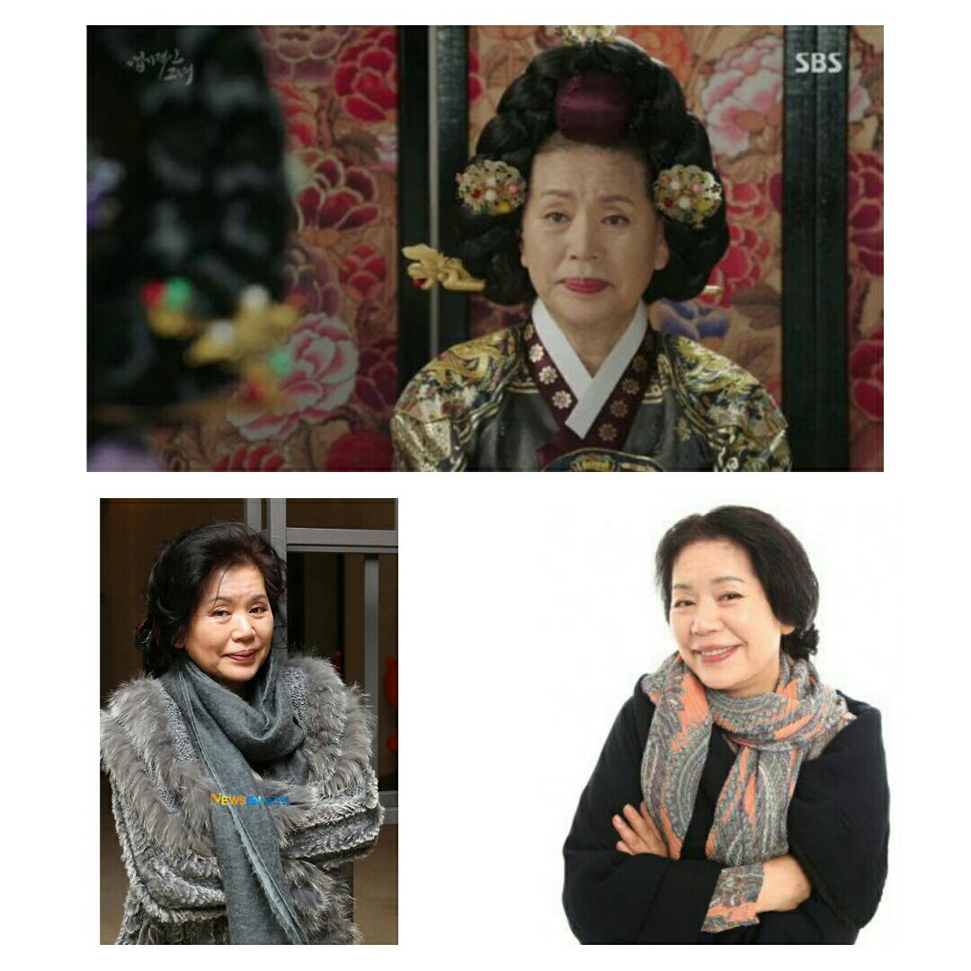 ازیگر باتجربه #YoonSoJung در سن 74سالگی از دنیا رفت ⚫️