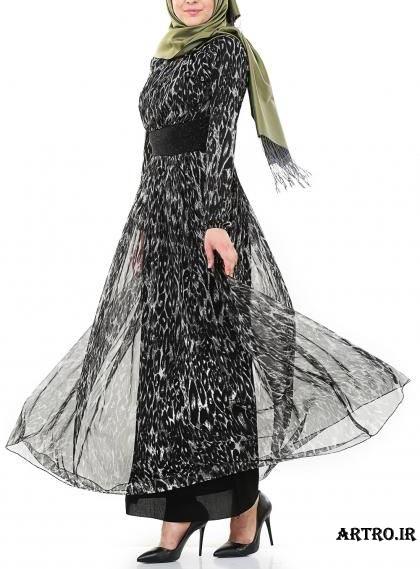 مدل لباس مجلسي حرير دخترانه,