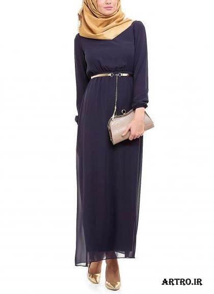مدل لباس مجلسی زنانه با پارچه حریر,
