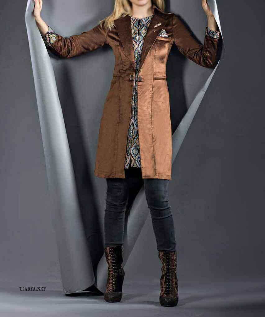 مدل مانتو اسپرت زمستانی 2017
