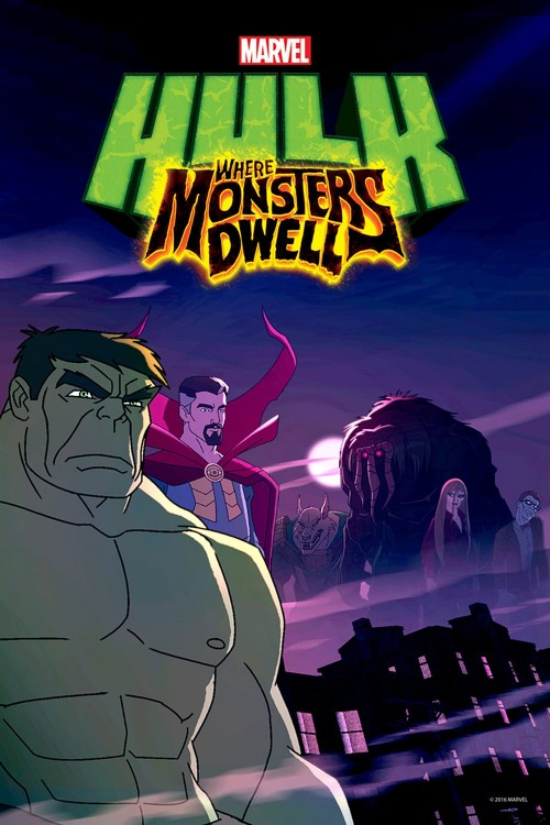 دانلود انیمیشن Hulk: Where Monsters Dwell 2016