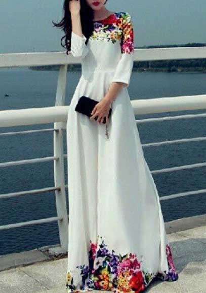 مدل لباس مجلسی طرح دار دخترانه+عکس,