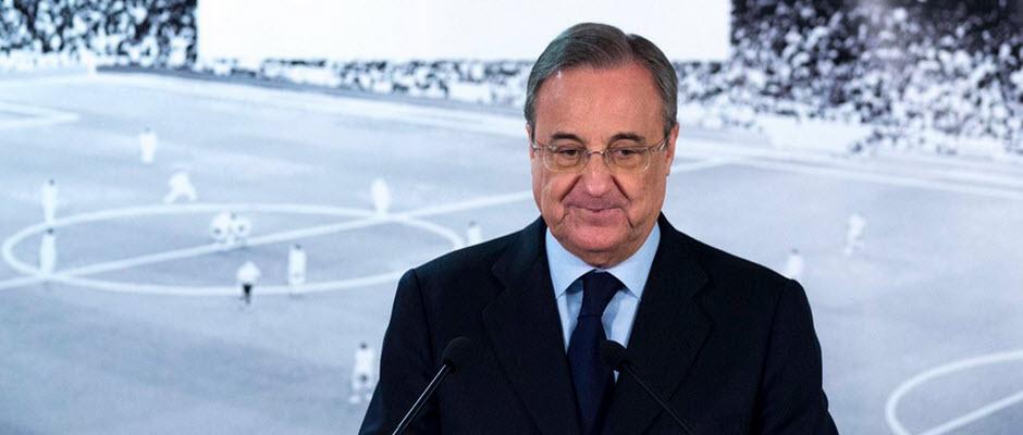 رسمی: فلورنتینو پرز تا 2021، در مسند ریاست رئال مادرید باقی ماند