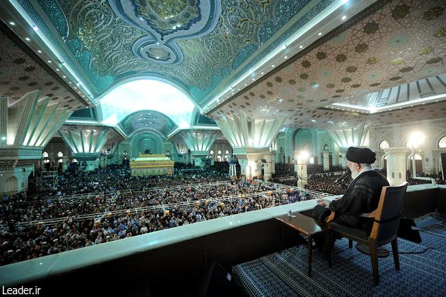 سخنرانی امام خامنه در تاریخ 14خرداد 96