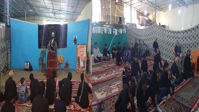 سخنرانی امام جمعه محترم در قلعه سفید