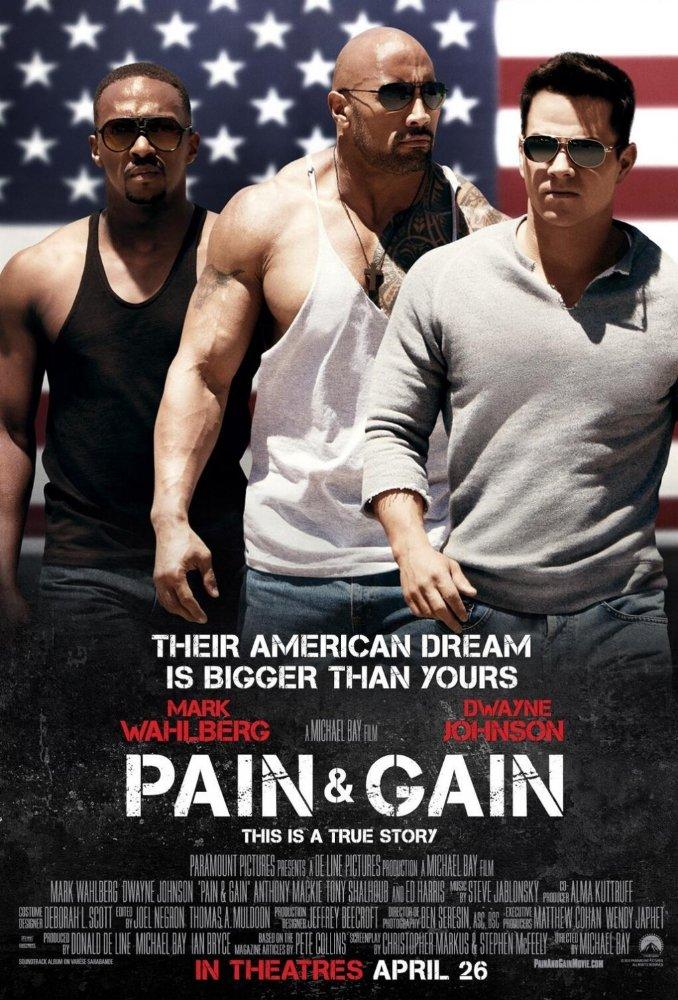 دانلود دوبله فارسی فیلم رنج و گنج Pain & Gain 2013