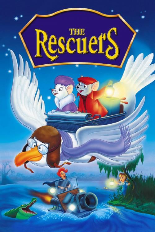 دانلود دوبله فارسی انیمیشن The Rescuers 1977