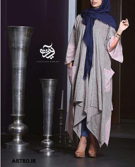مدل مانتو بلند ایرانی,