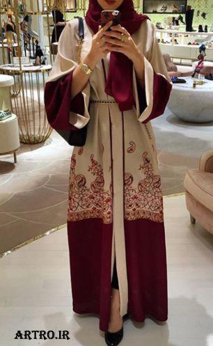 مدل عبای شیک عربی 2017