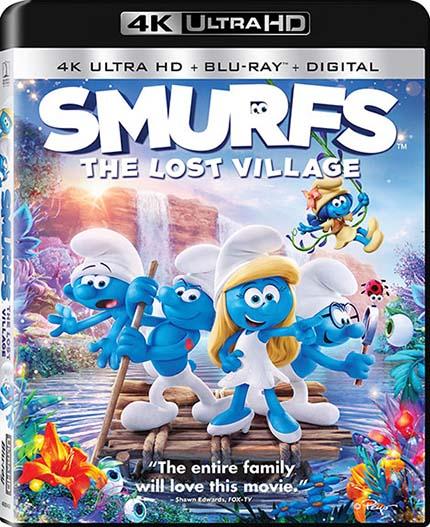 دانلود دوبله فارسی انیمیشن Smurfs: The Lost Village 2017