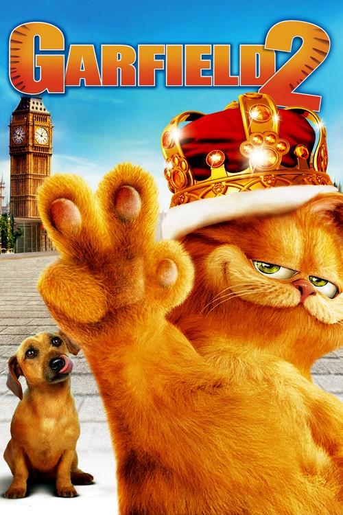 دانلود دوبله فارسی انیمیشن Garfield 2 2006