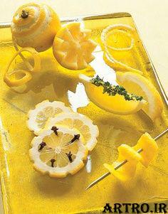 تزیین لیمو ترش,