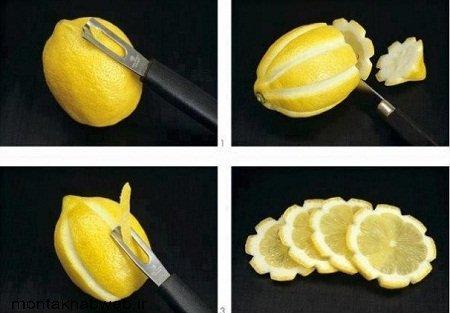 اموزش تزیین لیمو ترش
