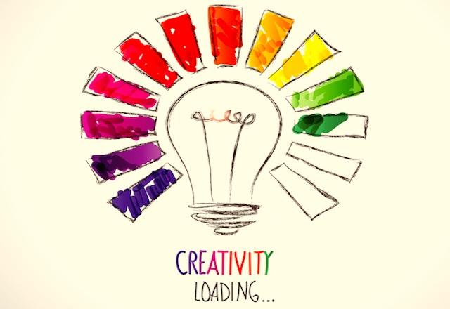 اینفوگرافیک 12 راه جالب برای افزایش خلاقیت