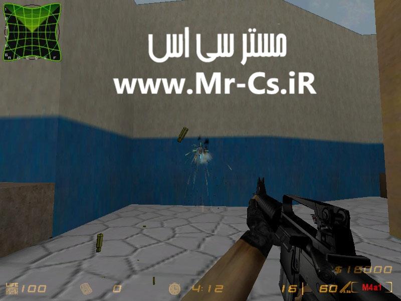 دانلود اسکین زیبای M4a1 | M16