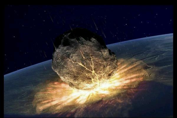 امکان برخورد شهاب سنگ بزرگ با کره زمین