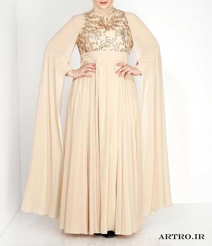 مدل لباس مجلسی زنانه بزرگ سایز