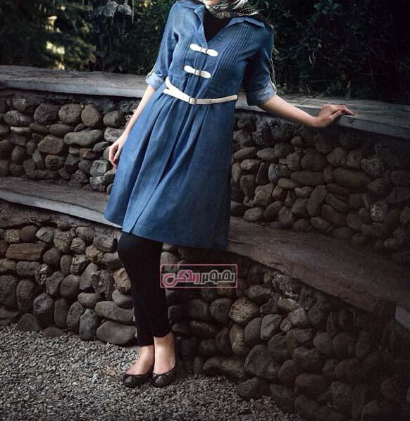 مدل مانتوهای شیک دخترانه3
