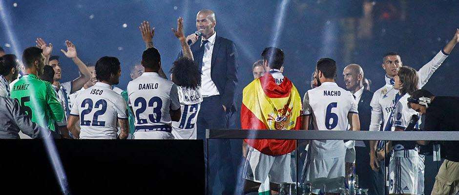 بررسی رکوردهایی که در فصل فوق العاده زیدان و رئال مادرید شکسته شد