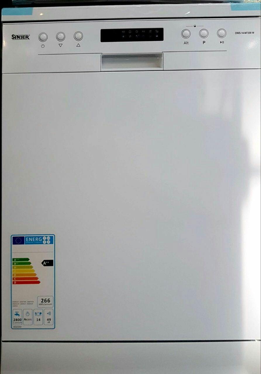 ماشین ظرفشویی سینجر مدل dws14m7209w