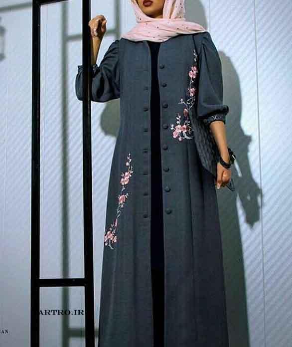 مدل مانتوی بلند زنانه 2017