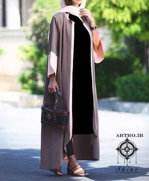 مدل مانتو بلند دخترانه 2017,