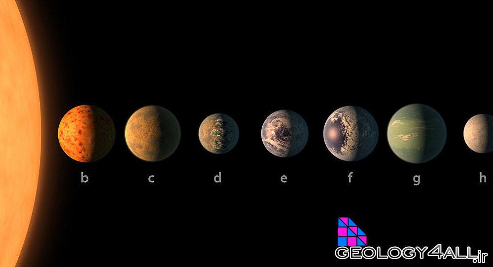 کشف جدید ناسا: سامانه ستاره ای نزدیک با 7 سیاره زیست پذیر شبیه زمین