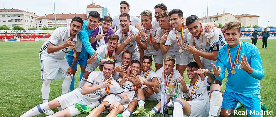 تیم جوانان رئال مادرید با سرمربیگری گوتی موفق به کسب سه گانه شد