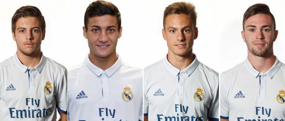 حضور چهار بازیکن تیم جوانان رئال مادرید در اردوی پیش فصل بزرگسالان