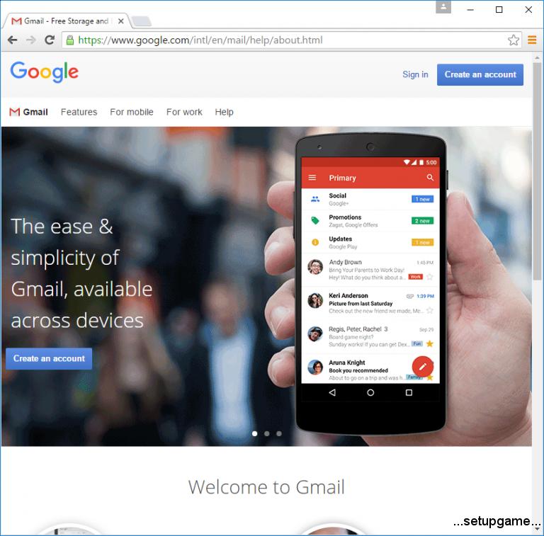 آموزش ساخت ایمیل در جیمیل gmail