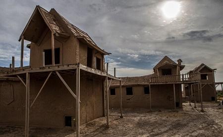 دهکده چوبی در نیشابور