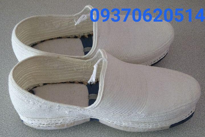 فروش اینترنتی خنک ترین کفش جهان گیوه کلاش 09370620514