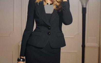 عکس های از مدل کت دامن مجلسی 2017