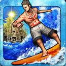 دانلود Ancient Surfer 1.0.1 – بازی موج سواری اندروید + مود شده
