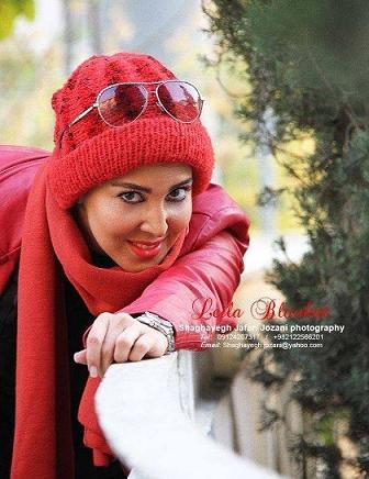 ليلا بلوکات با کلاه قرمز،عکس ليلا بلوکات،ليلا بلوکات بازيگر سينما