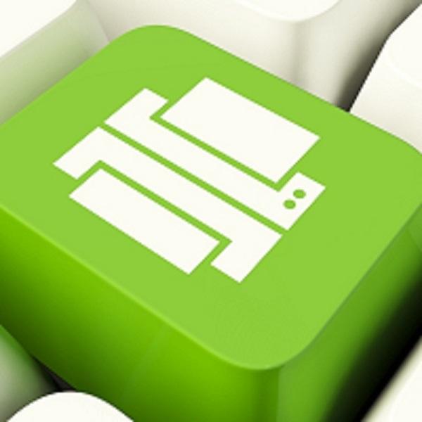 چاپ سبز