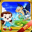 دانلود Little Oz Run Full 1.0 – بازی جدید و زیبای سفر به معبد اندروید